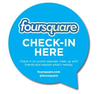 Foursquare-Checkin-Minyan