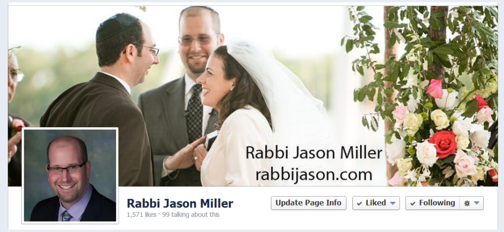 Rabbi Jason Miller's Facebook Page