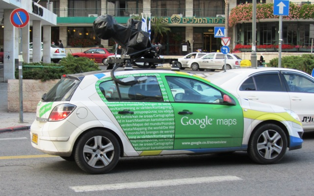 google maps jerusalem israel