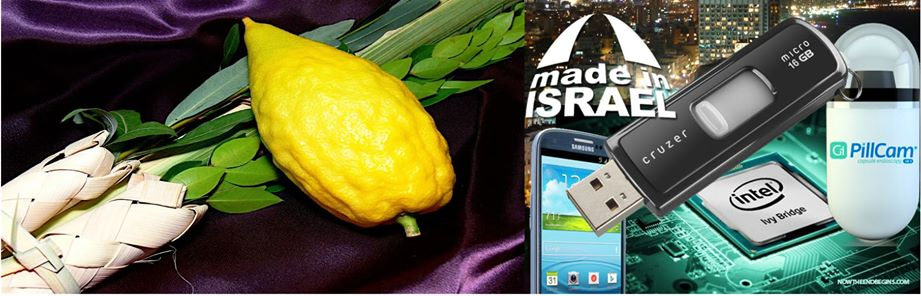 Israel Tech Economy Sukkkot