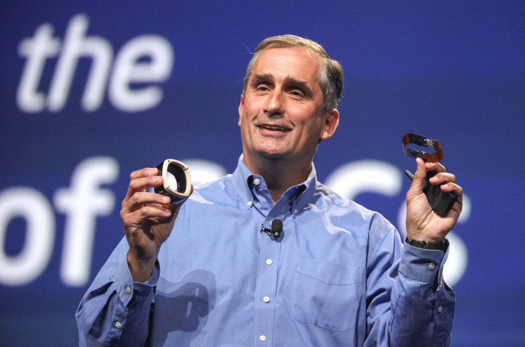 Brian Krzanich, the chief executive of Intel