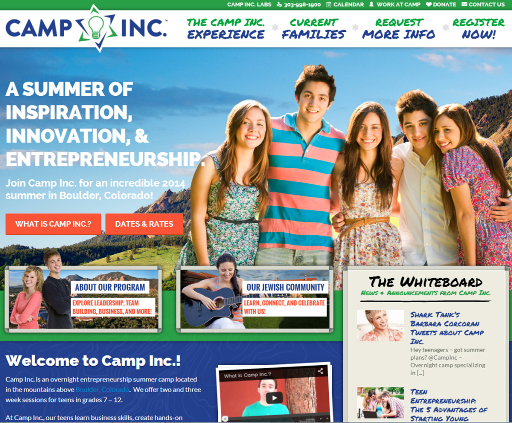 Camp Inc - Jewish Camp Entrepreurship