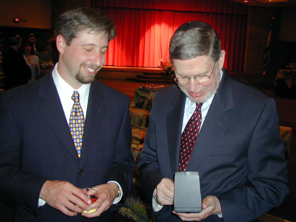 Rabbi Danny Nevins and Rabbi Bill Lebeau