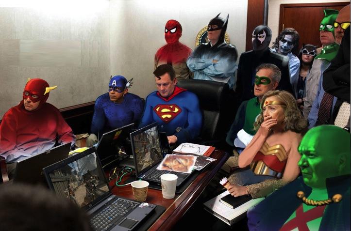 SUPER HERO HILLARY MEME