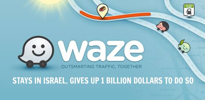 Waze gives up $1 billion to stay in Israel