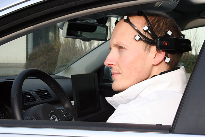 driving with brain shabbat